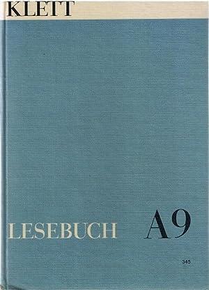 Lesebuch A (Gymnasium) 9. Schuljahr Klettbuch 345: Verlagsredaktion Deutsch