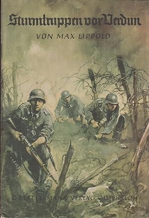 Sturmtruppen vor Verdun - Spannende Geschichten Bd.116: Lippold, Max
