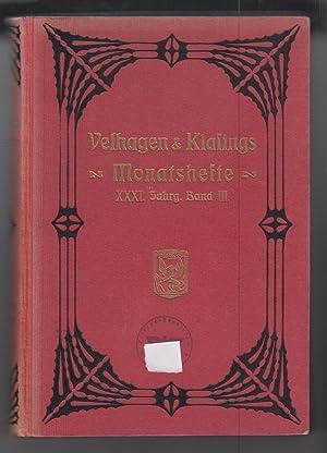 Monatshefte. Jahrgang 1916/1917.: Velhagen & Klasing