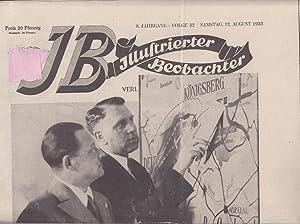 JB Illustrierter Beobachter, 8. Jahrgang, Folge 32,