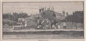 Orig. Holzstich - Bayern - Der Kraiburg.