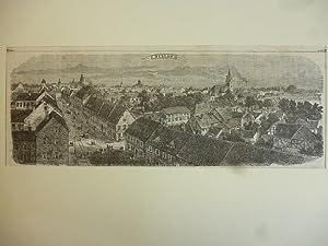 Orig. Holzstich - Dessau.
