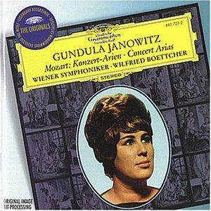 The Originals - Mozart (Konzertarien): Janowitz, Gundula, Böttcher