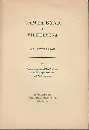 Gamla Byar. I Vilhelmina. Band IV: Pettersson, Olof Petter