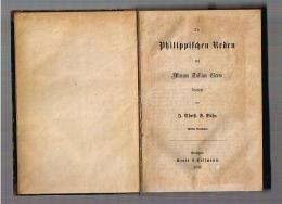 Philippischen Reden übersetzt von J. Christ. F. Bähr: Cicero , Marcus Jullius: