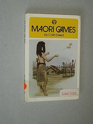 Maori Games: Colin Deed