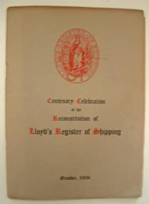 The Cetenary of the Re-Constitution of Lloyd's