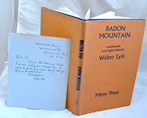 Badon Mountain : A Narrative Poem in the English Tradition