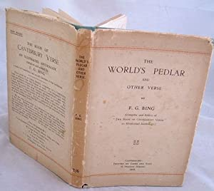 The World's Pedlar and Other Verse
