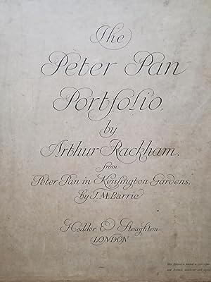 The Peter Pan Portfolio. from Peter Pan: Arthur Rackham (illus.)