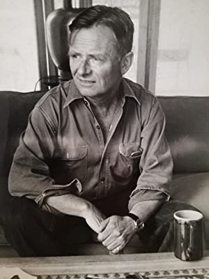 Christopher Isherwood, Portrait Photograph - by Florence Homolka