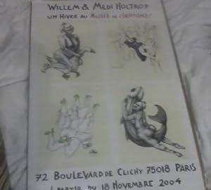 2004 Musee Erotisme Exhibition Poster: Holtrop, Bernhard Willem and Medi