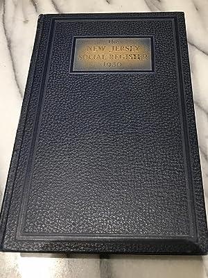 The New Jersey Social Register 1930: New Jersey Social Register