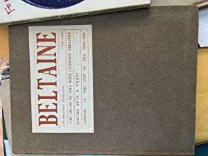 Beltaine. Numbers 1, 2 & 3. 1899-1900.: Yeats, William Butler edited by. Lionel Johnson; George...
