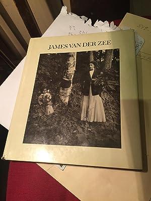 James Van Der Zee SIGNED: James Van Der Zee. edited by Liliane De Cock & Reginald McGhee. intro by ...