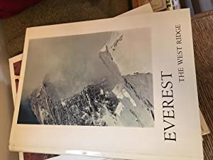 Everest: The West Ridge. Signed