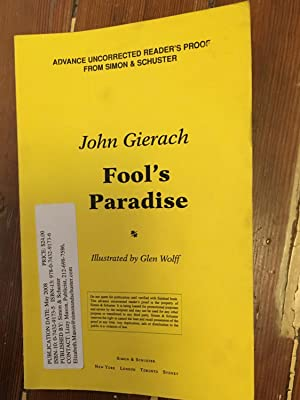 Fool's Paradise Advance Reader's Proof