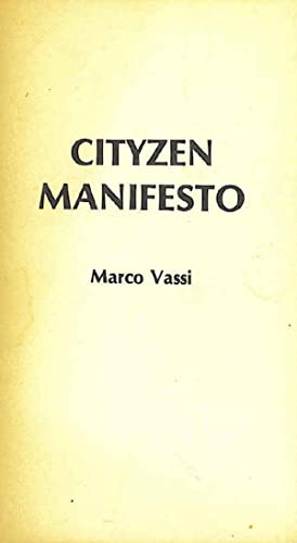 Cityzen Manifesto.: Vassi, Marco