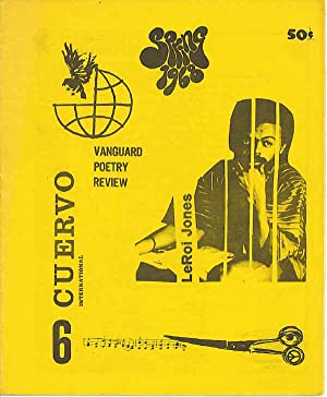 Cuervo International 6 Spring 1968: Hinestrosa, Dukardo Leroi Jones, Gary Snyder, Hugh Fox,
