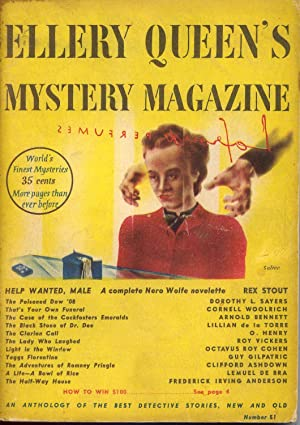 Ellery Queen's Mystery Magazine Vol. 11 No. 51 February 1948: Queen, Ellery (Frederic Dannay &...