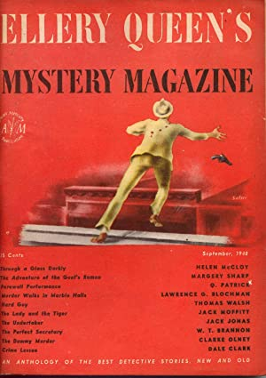 Ellery Queen's Mystery Magazine Vol. 12 No. 58 Sept. 1948: Queen, Ellery (Frederic Dannay & ...