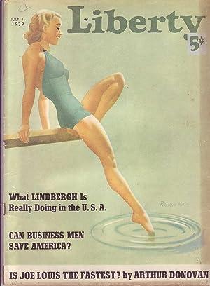 Liberty, July 1, 1939: Macfadden, Bernarr (Editor);
