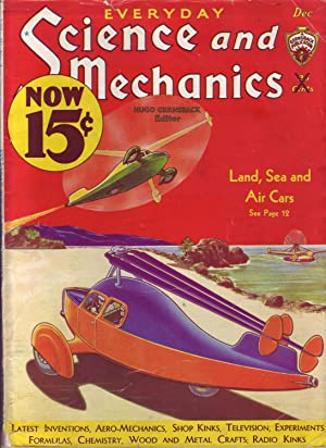 Everyday Science and Mechanics, Vol. IV No. 1, December 1932: Gernsback, Hugo (Editor)