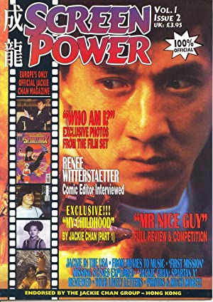 Screen Power Vol. 1, Issue 2 (Europe's Only Official Jackie Chan Magazine): Cooper, Richard (...