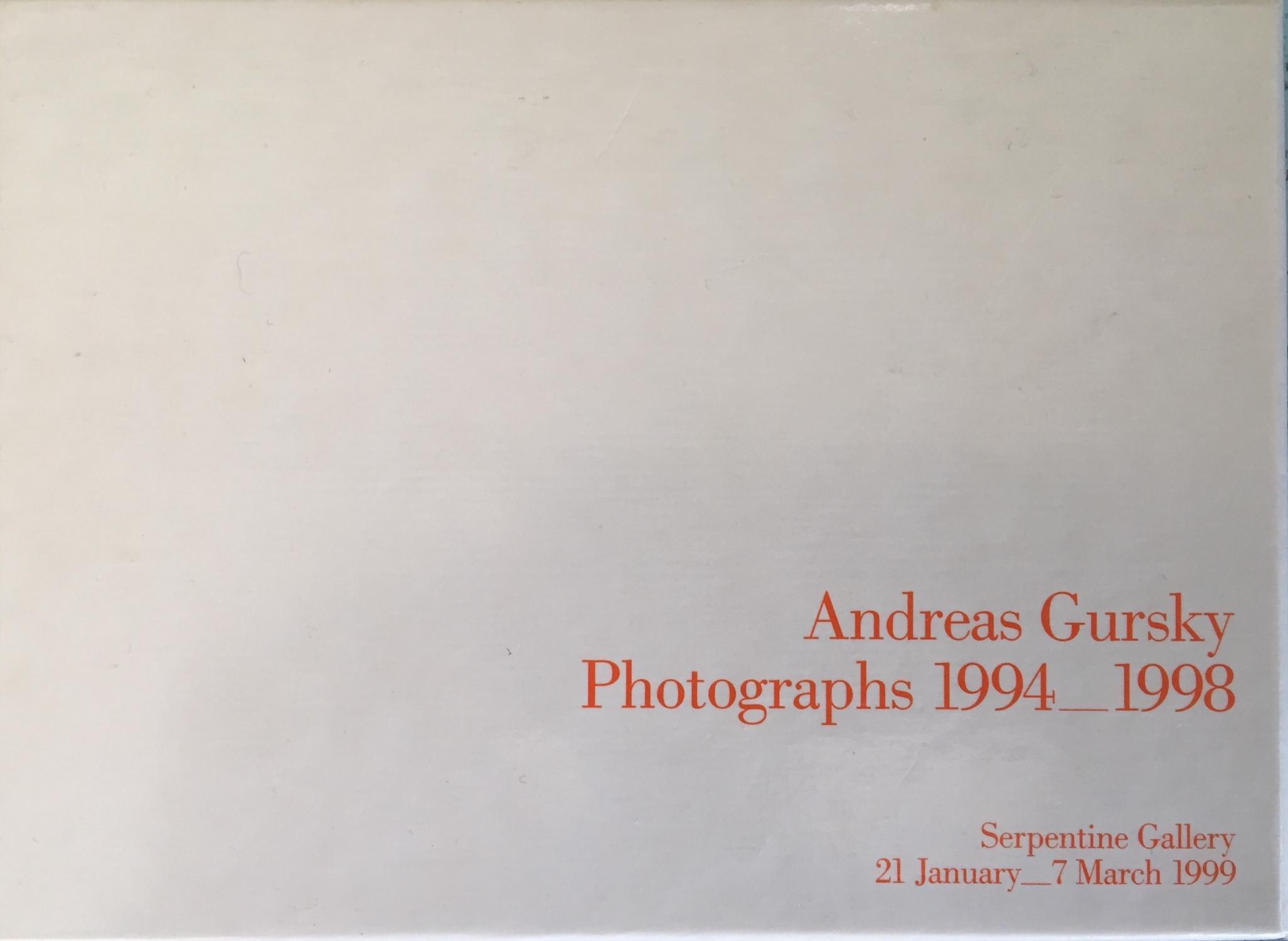 Photographs 1994_1998: Andreas Gursky