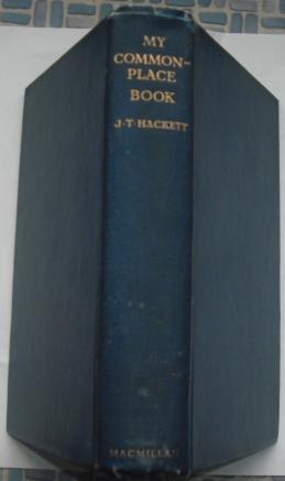 My Commonplace Book: Hackett, J.T.