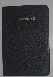 The Kingsgate Pocket Poets: A Selection from: Browning, Robert; Fancutt,