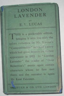 London Lavender: Lucas, E.V.