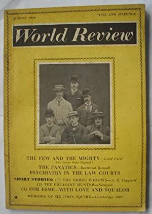 World Review August 1950 (includes The Fanatics by Bertrand Russell): Russell, Bertrand and others