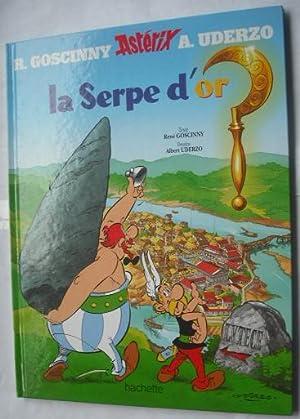 ASTERIX LA SERPE D'OR: GOSCINNY, RENE ;