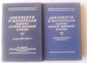 Dokumenti i Materiali Kanuna Vtoroi Mirovoi Voini Tom 1 and 2 (Russian Language)
