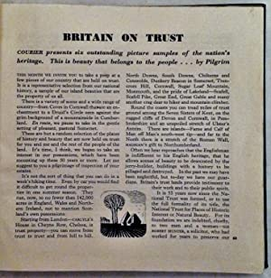 Britain On Trust from The Courier Quarterly Magazine (Bound Volume): Anon