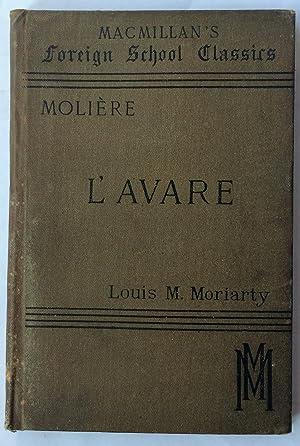 L'Avare: Moliere, J.B.Poquelin