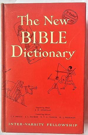 The New Bible Dictionary: Douglas, J.D.