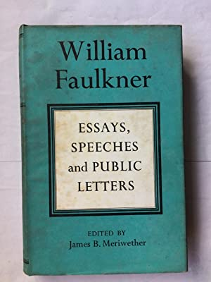 Essays speeches and public letters