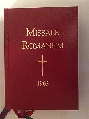 Missale Romanum 1962: Anon