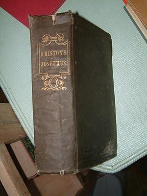 The Works of Flavius Josephus: Josephus, Flavius (translated