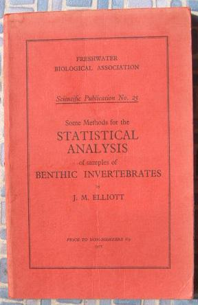 Some Methods for the Statistical Analysis of Samples of Benthic Invertibrates: Elliott, J.M.