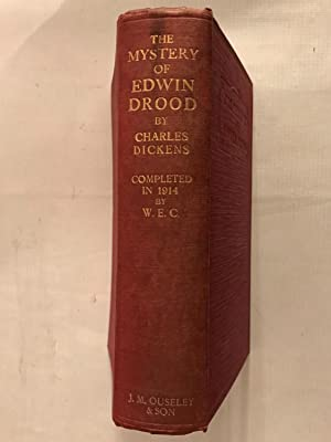 The Mystery of Edwin Drood completed in: Dickens, Charles (edited
