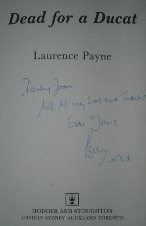 Dead for a Ducat: Payne, Laurence