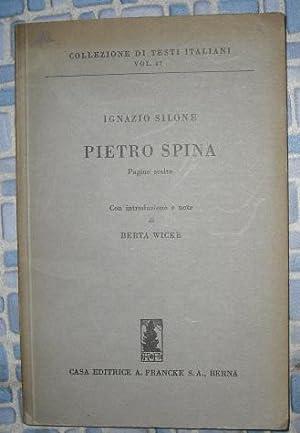 Pietro Spina: Silone, Ignazio