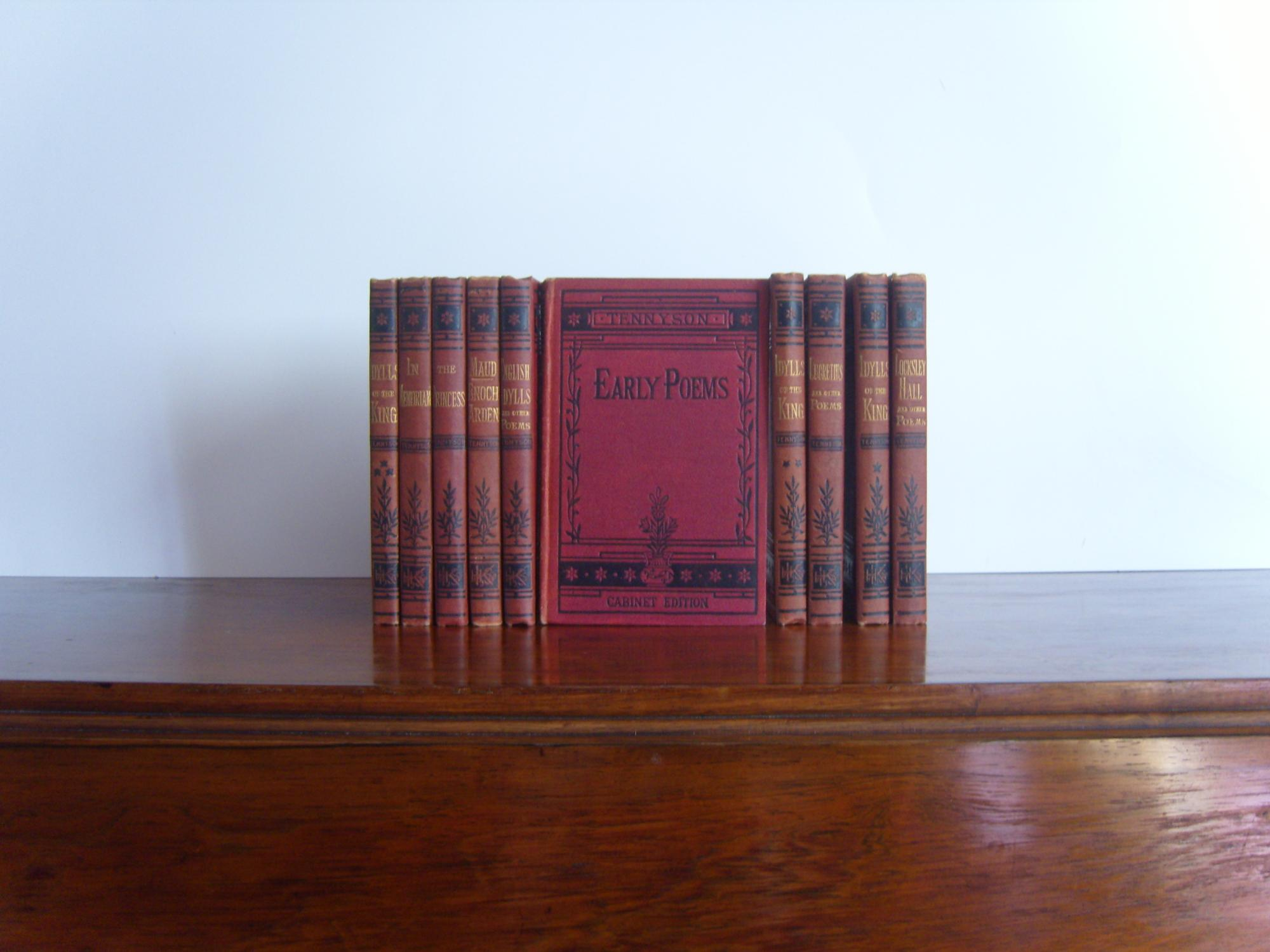 The Cabinet Edition Of Mr Tennysonu0027s Works. 10 Volume Set.: Tennyson, Alfred