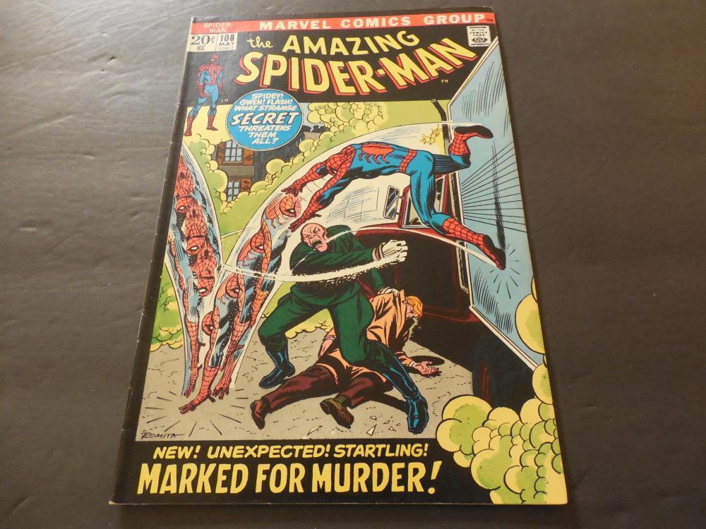 Amazing Spider-Man #108 May 1972 Bronze Age Marvel Comics