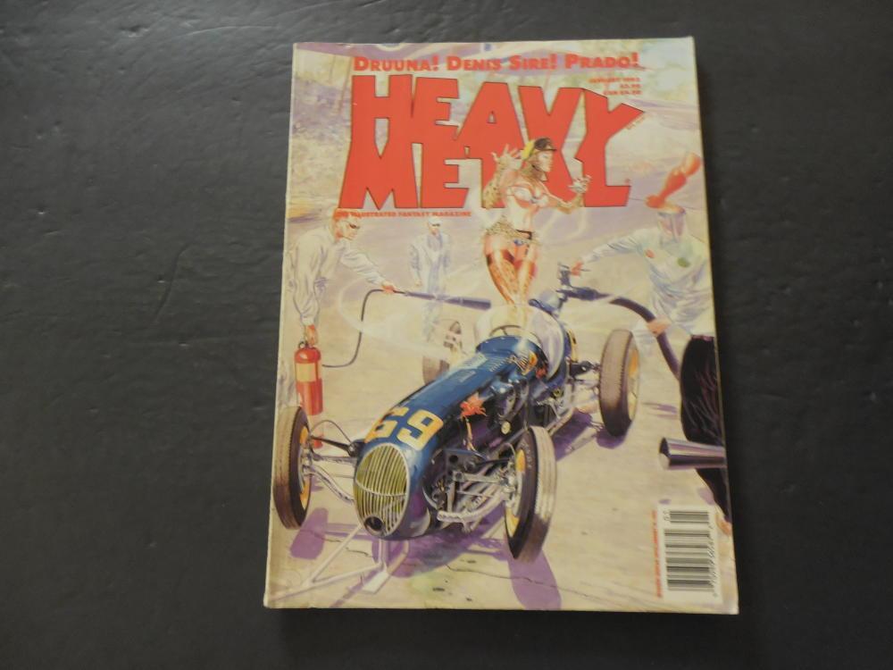 Heavy Metal Jan 1993 Drunna Denis Sire Prado