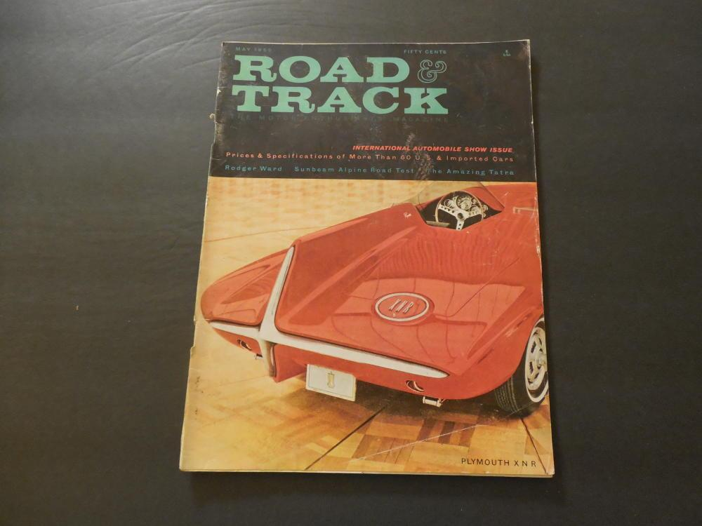 Road & Track May 1960 Plymouth XNR