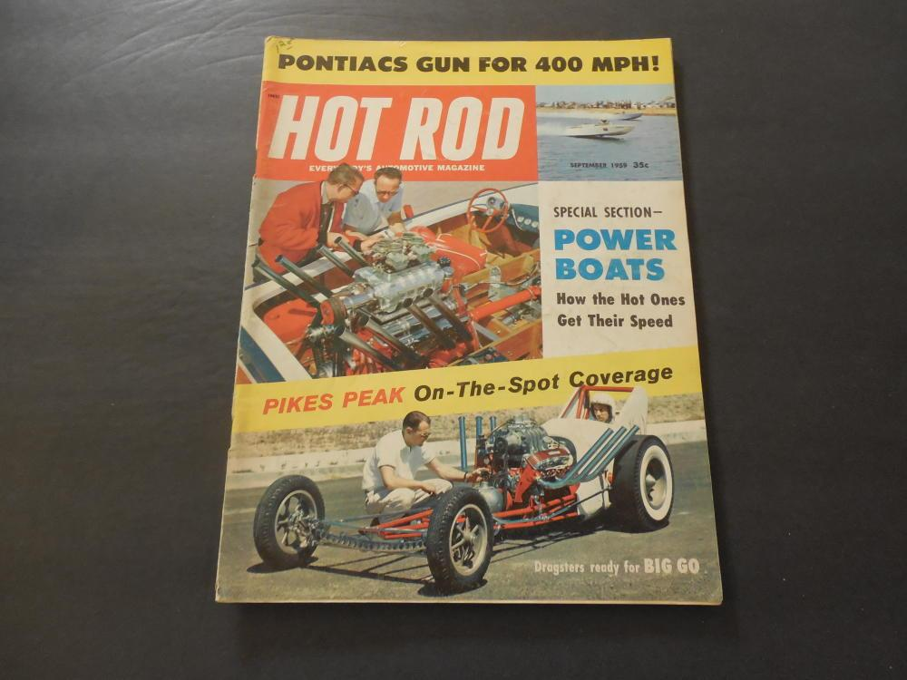 Hot Rod Sep 1959 Dragsters